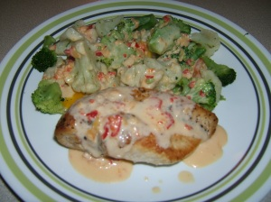 Chicken with Jalopeno Cream