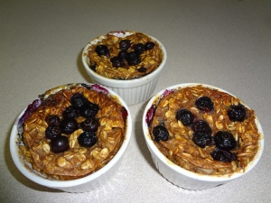 Blueberry Oat Cups