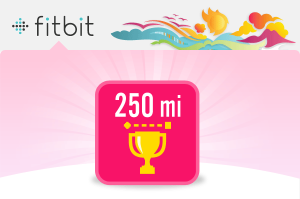 Fitfit 250 miles