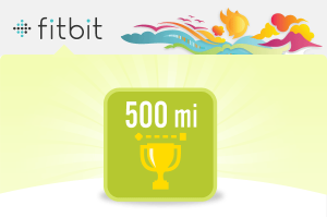 500 Miles Lifetime Badge