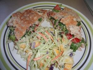 Cobb Salad Pitas